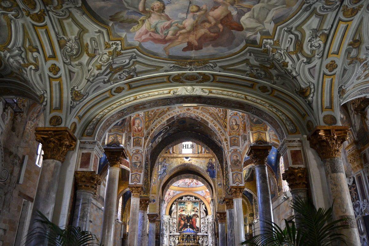 Chiesa della Martorana colonne