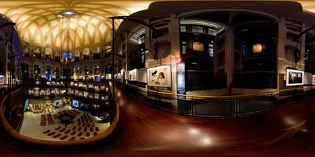 Museo del Cinema a Torino interni