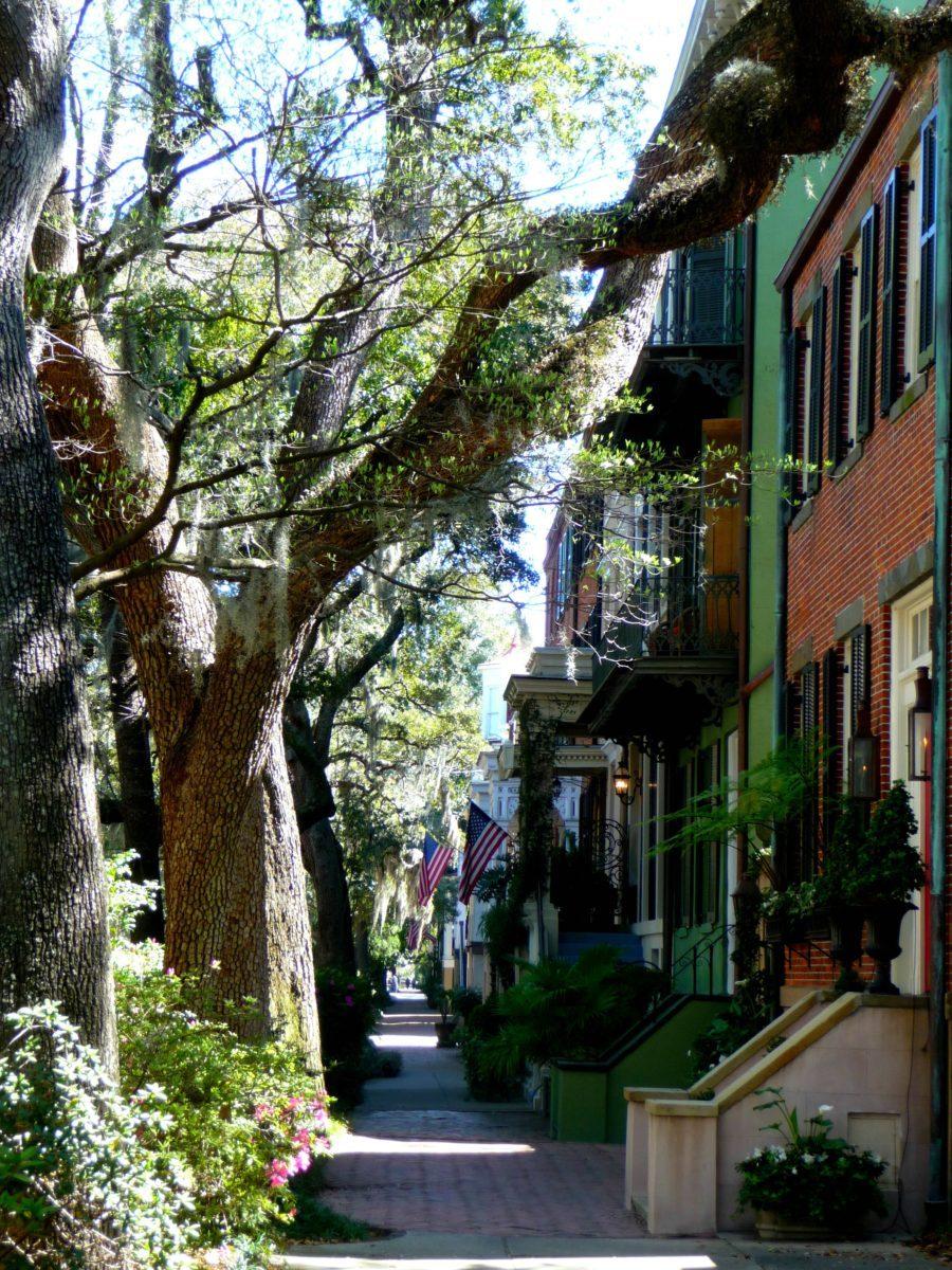 Vialetto acciottolato Savannah