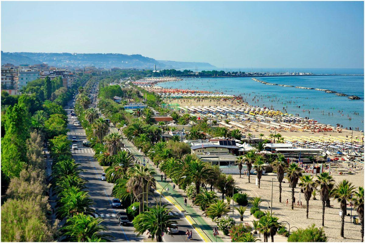 Riviera delle palme a San Benedetto del Tronto