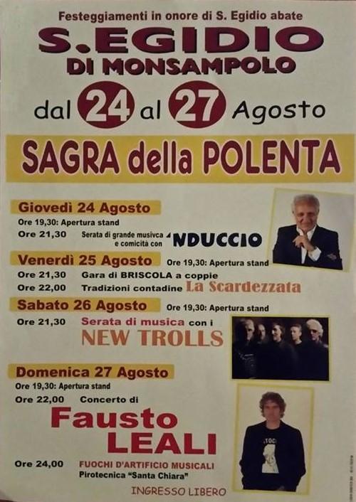 Sagra della Polenta, provincia Ascoli Piceno