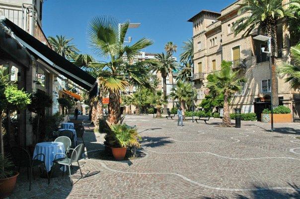 Passeggiata a San Benedetto del tronto