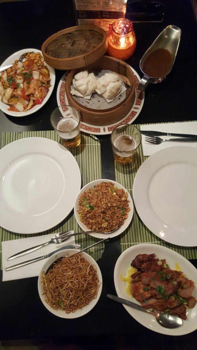cibo cinese Chinatown