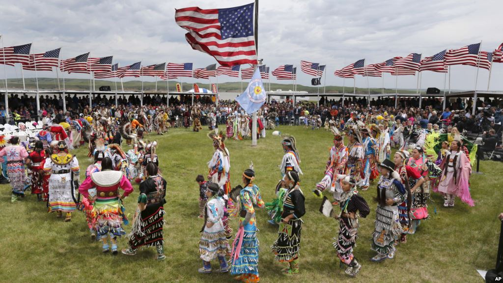 Nativi Americani nella riserva