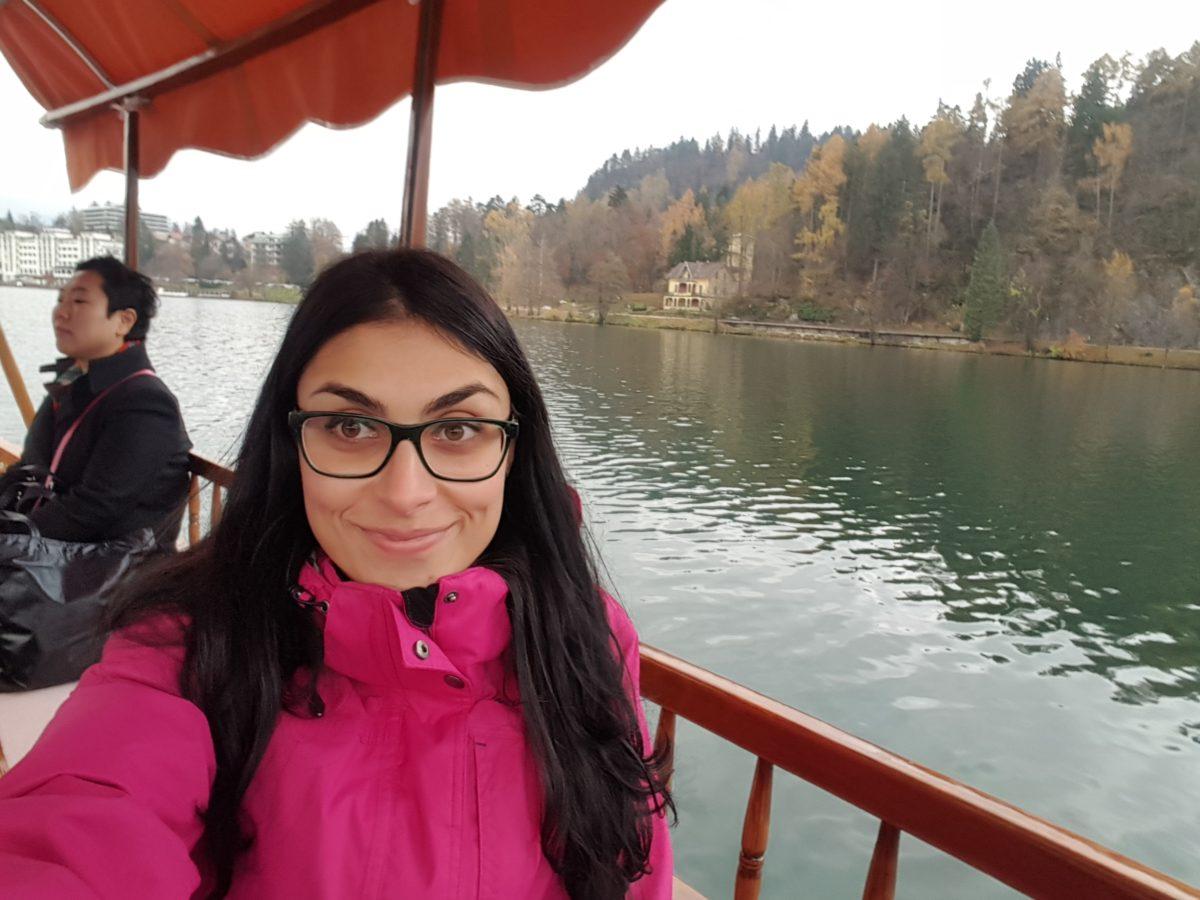 Corea coreani lago di Bled Slovenia