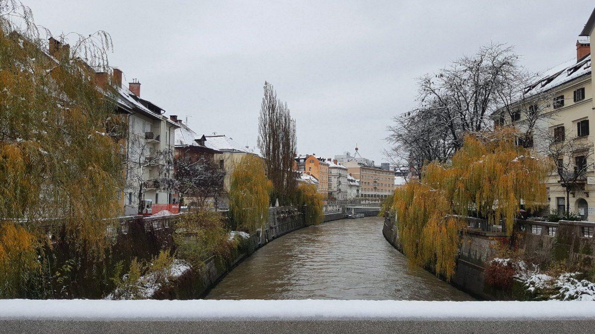 lungofiume Lubiana ponte