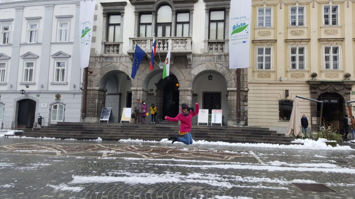 Municipio Lubiana salto