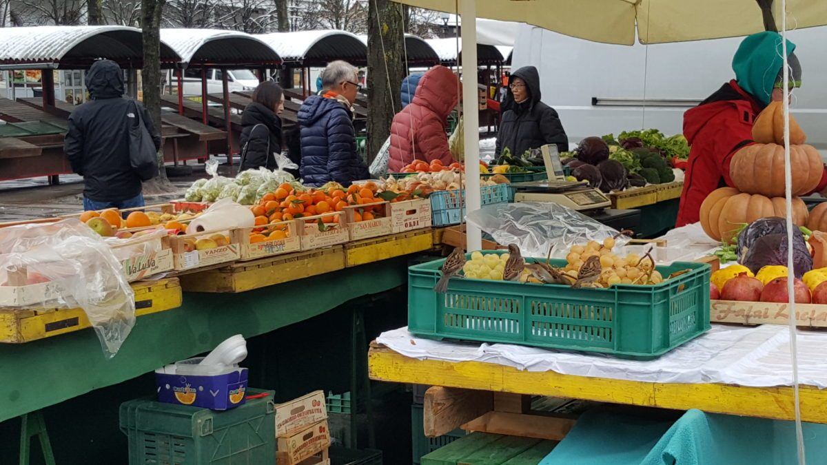 mercato centrale Lubiana