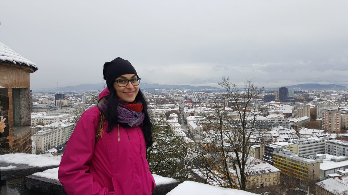 panorama Castello Lubiana