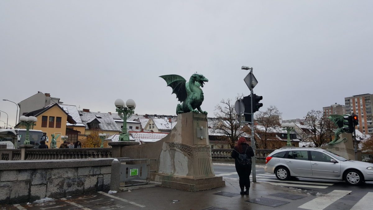 drago ponte dei draghi Lubiana