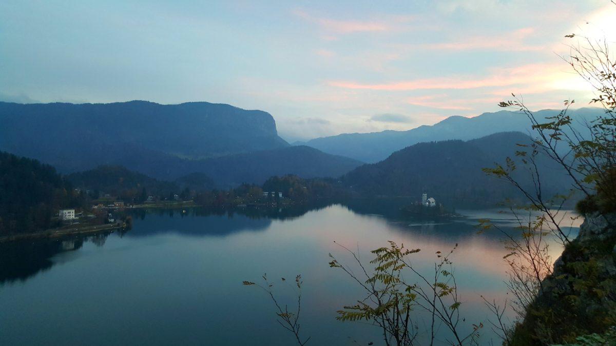 Lago di Bled Castello Slovenia