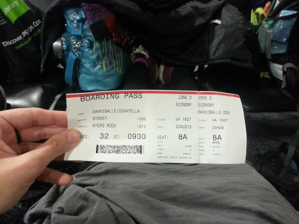 biglietto come arrivare Uluru Australia