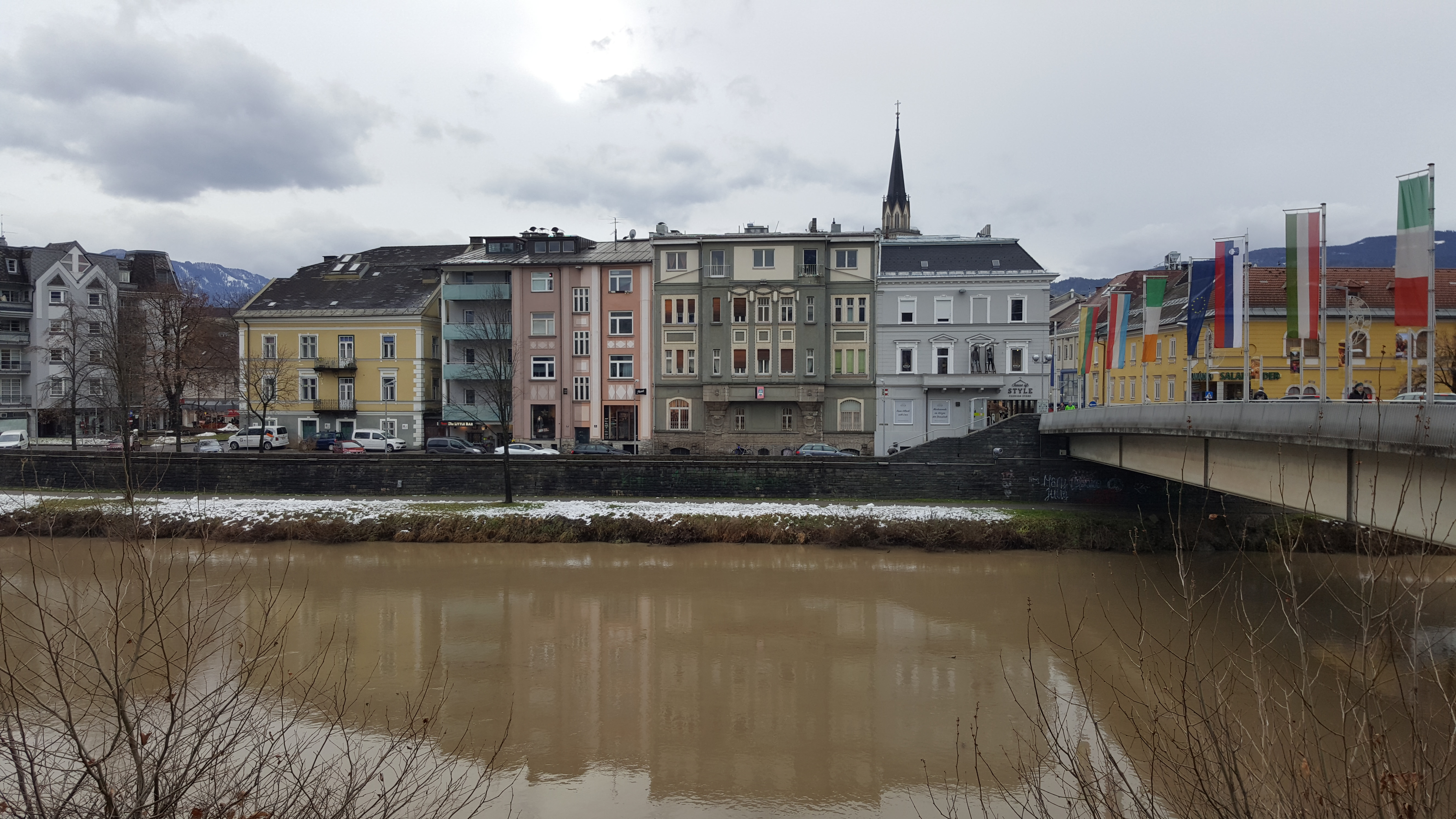 ponte Villach cosa fare dove dormire Carinzia