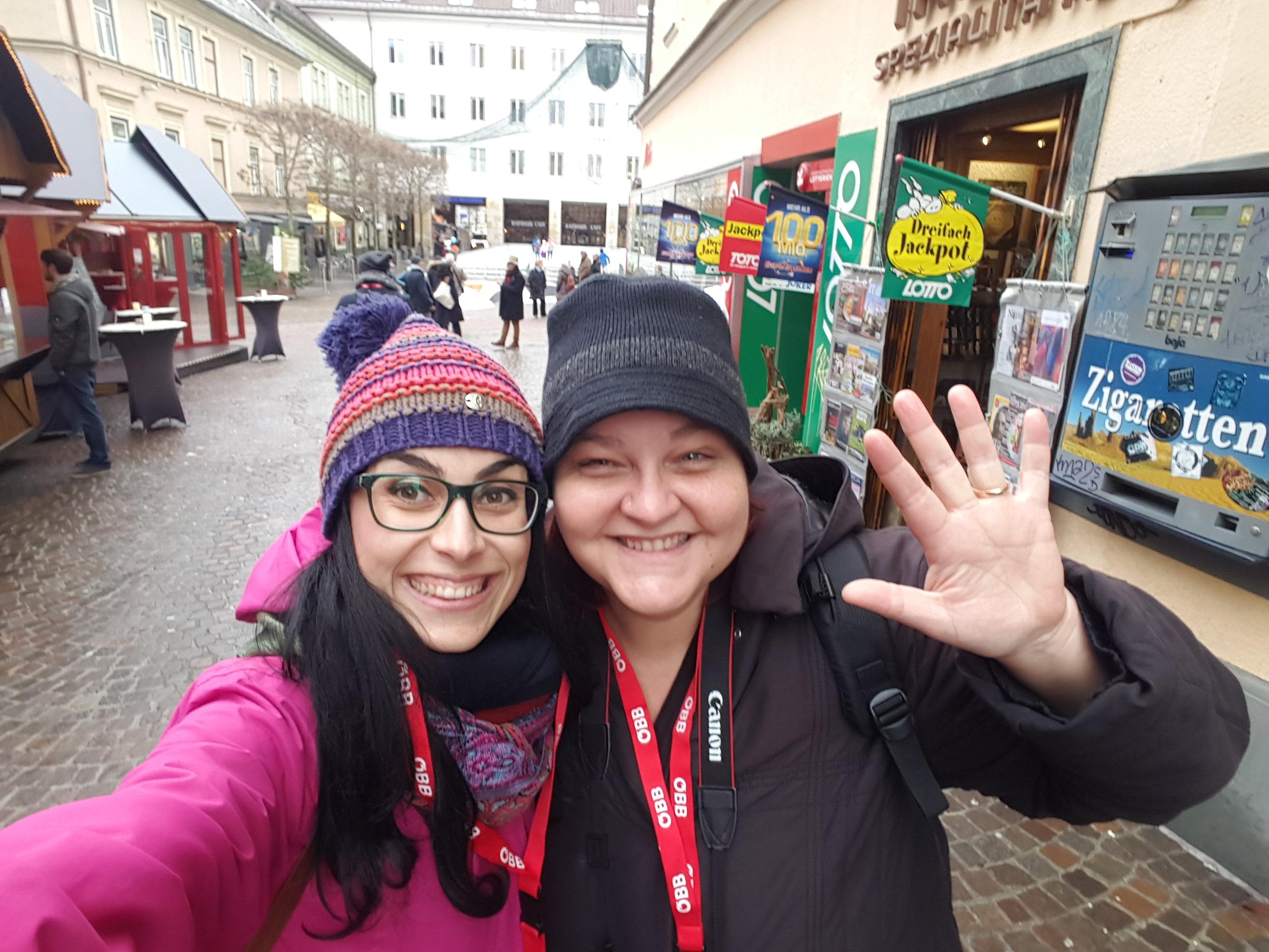 Valentina Gleria Scatto per Scatto Villach blogger come arrivare mercatini di Natale