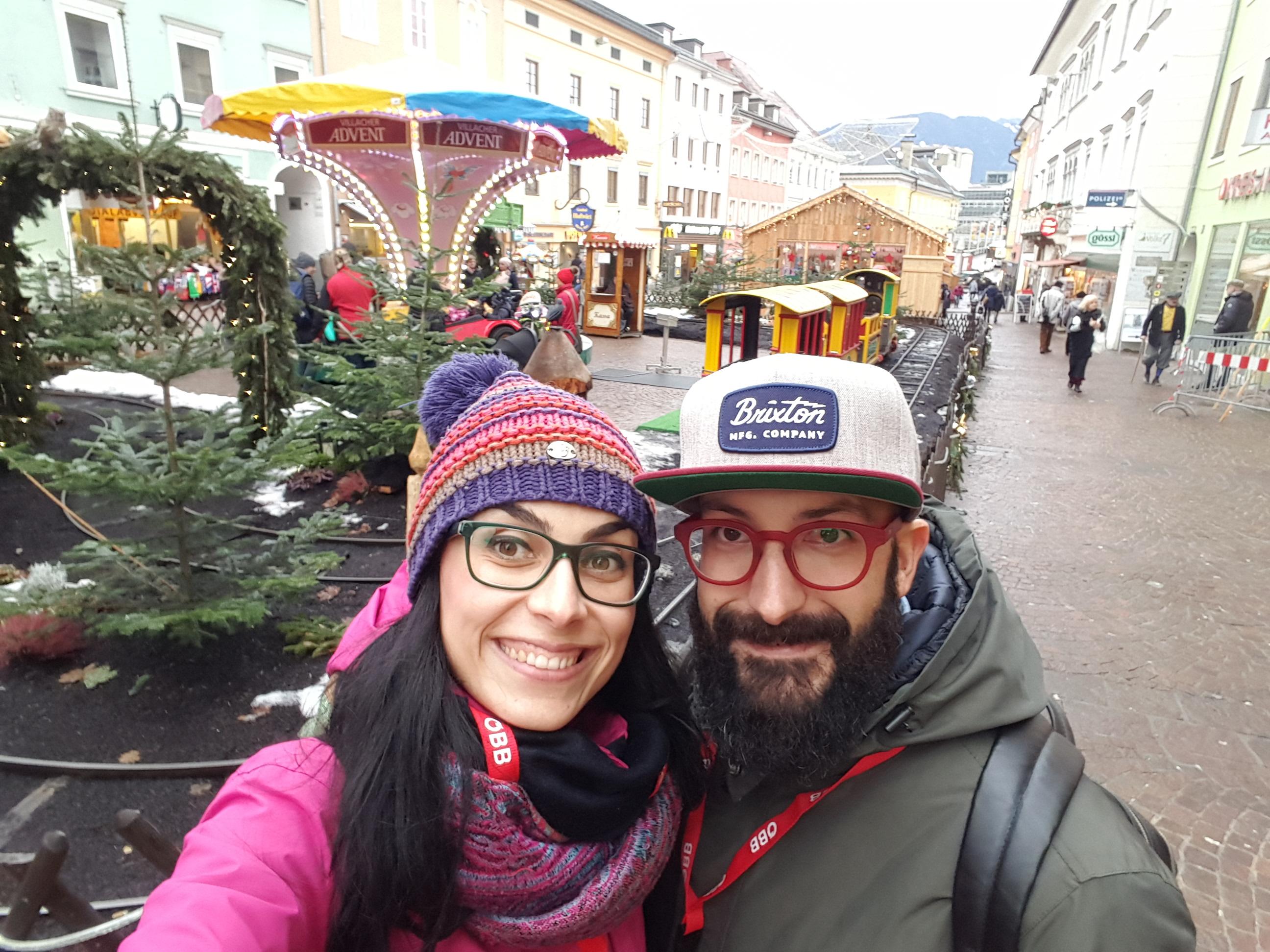 Villach mercatini di Natale come arrivare treno