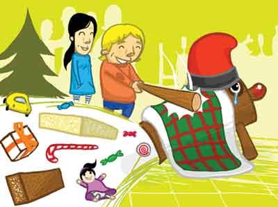 Caga TióSpagna tradizioni natalizie strane