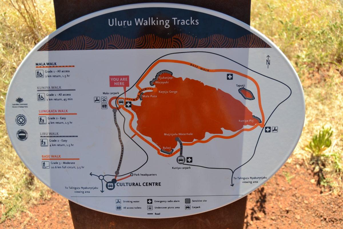 Sentieri Uluru classifica