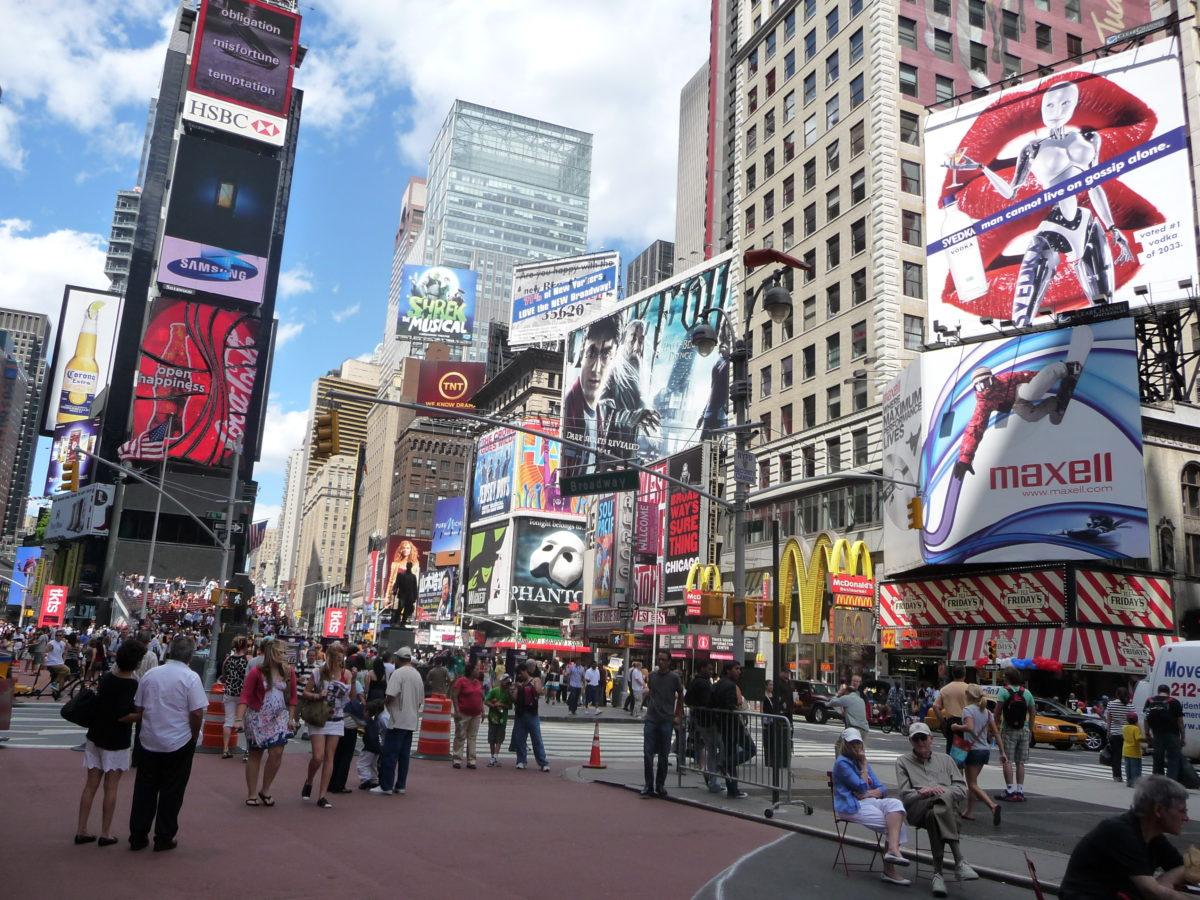 Times Square New York perché sogniamo visitare