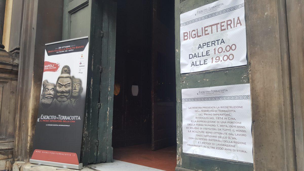 Biglietteria Napoli Esercito di Terracotta mostra napoli