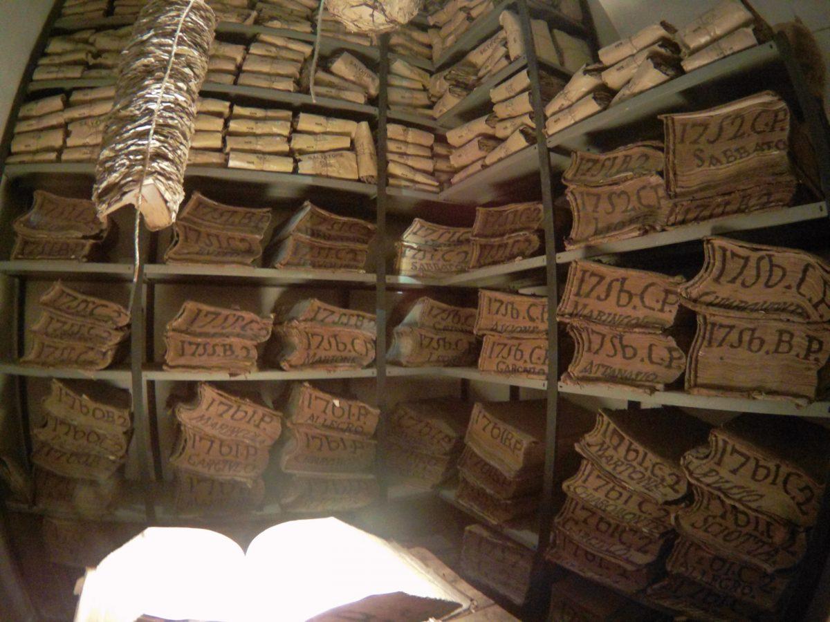 Cosa non perdersi a Napoli Archivio storico del Banco di Napoli meteo