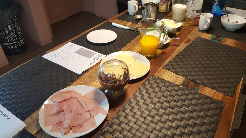 colazione Dove dormire a Lisbona: Back to Lisbon Hostel Booking.com meteo