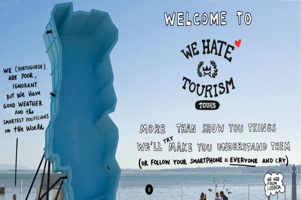 We Hate Tourism Tours per i tour più belli e pazzi di Lisbona