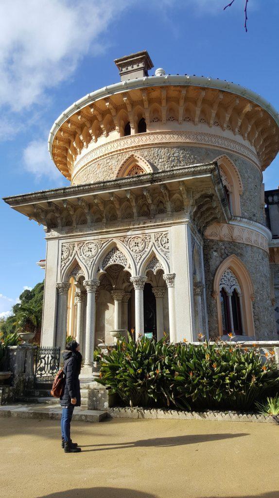 Scopri quale palazzo non devi assolutamente perderti nei Parchi di Sintra Portogallo viaggiare viaggio viaggi meteo Europa Google natura